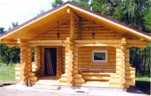 Преимущества деревянных бань