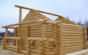 Как построить баню из сруба?