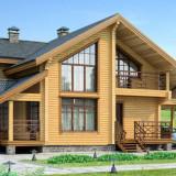 Какие преимущества домов из сруба?