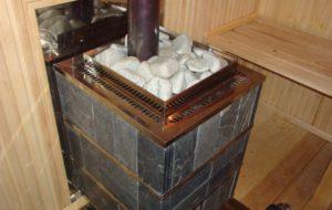 Печь для отопления бани — деталировка, используемые материалы