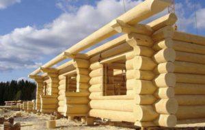 Применение древесины в строительстве