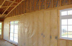 Теплоизоляция и отделка стен деревянного дома