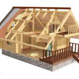 Как строят деревянные дома