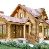 Деревянный дом: бревно и его виды