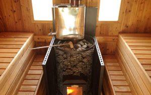 Правила подбора и покупки печек для бани из сруба