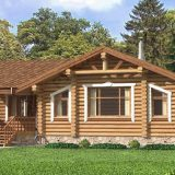 Дома и бани из натуральной древесины