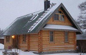 Дома и бани из сруба: история и современные разработки