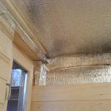 Утеплитель для бань: утеплитель потолка и стен для бани с фольгой