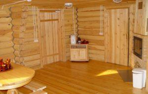 Освещение и вентиляция бани