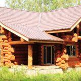 Особенности домов из сруба