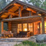 Преимущества домов из рубленного дерева